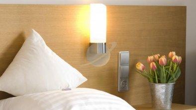 Doppelzimmer Detail Hotel Bräuwirt