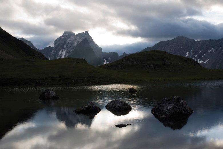 Lower Seewisee Lake next to Memminger Hut. , © Tirol Werbung / Bernd Ritschel.