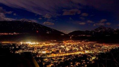 Innsbruck bei Nacht 2017