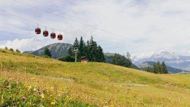 Fieberbrunn cable car in the Pillerseetal Valley, © Tirol Werbung/Robert Pupeter