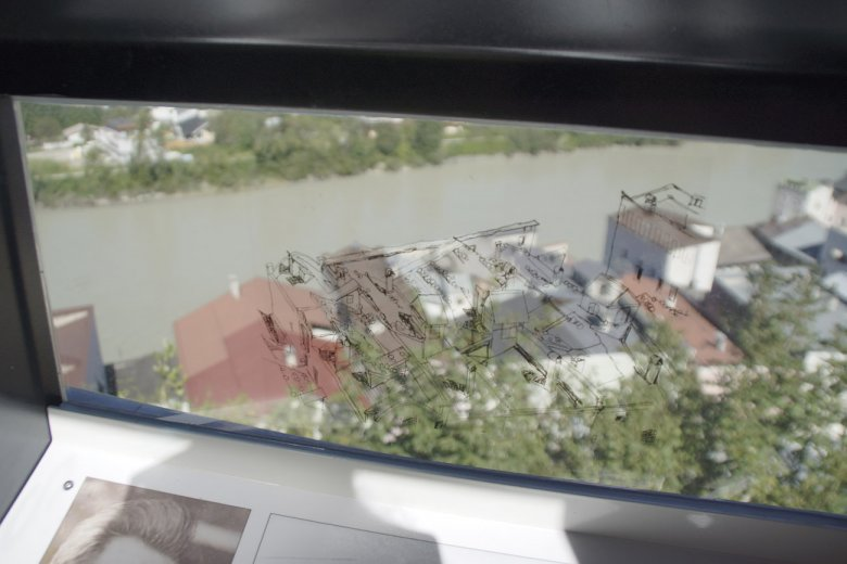 Egon Schiele Lookout in Rattenberg