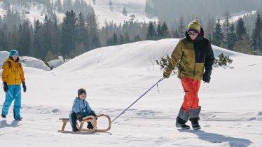 Toboggan Fun in Sillian, © Tirol Werbung / Hans Herbig