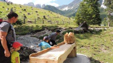 Adventure trail at the Schlickeralm, © Schlick 2000