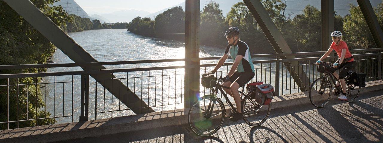 Cycle Path from Jenbach to Innsbruck, © Tirol Werbung/Frank Bauer