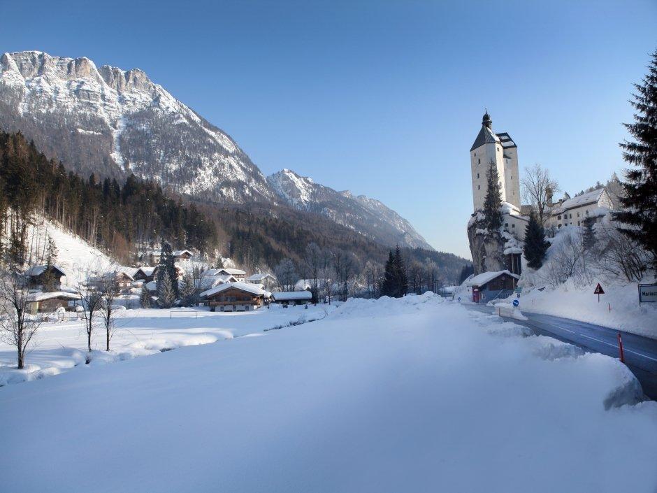 Mariastein in winter, © Hannes Dabernig