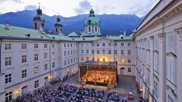 Summer promenade concerts at the Hofburg imperial palace, Innsbruck, © TVB Innsbruck / Christoph Lackner