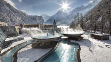 Aqua Dome in winter, © TVB Ötztal