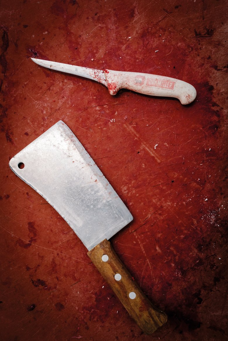 Tools such as knives and hatchets must be razor-sharp.