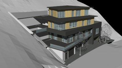 Sketch aparthote ADRENALIN - Southwest
