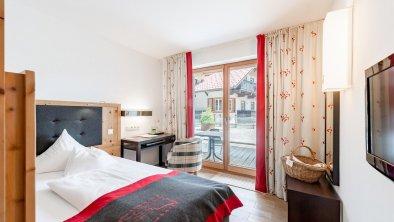 Einzelzimmer Sonnenaufgang Grand Lit - Inntalerhof