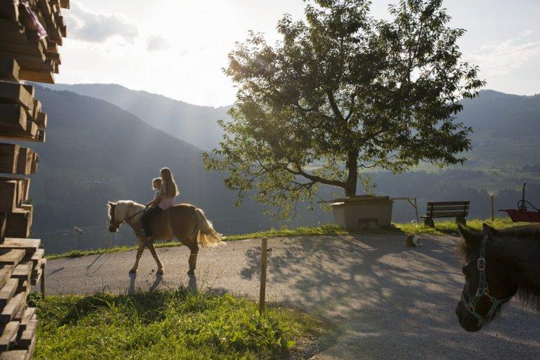 Hopfgarten in Brixental Valley.
