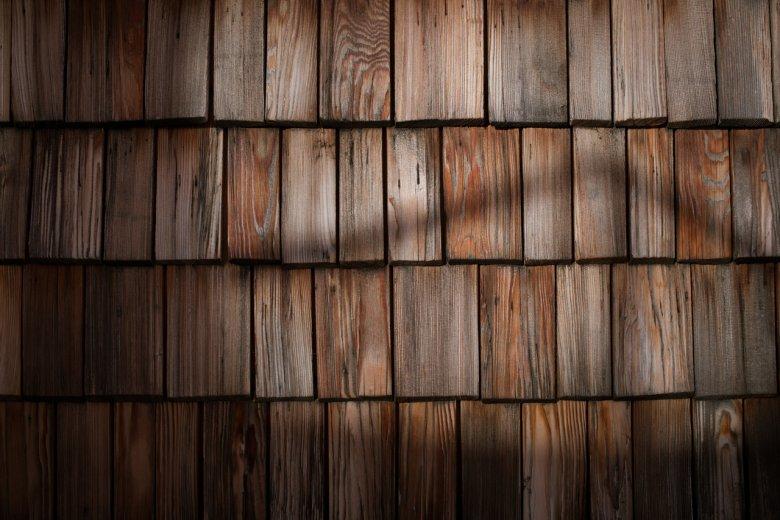 Wooden tiles Stüdl Hut