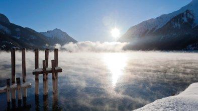 Winterstimmung am See - Fürstenhaus