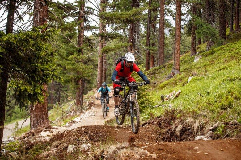 The challenging Bergkastel Trail in Nauders is an adrenaline-fueled experience. Photo Credit: Tourismusverband Tiroler Oberland / Nauders Tourismus