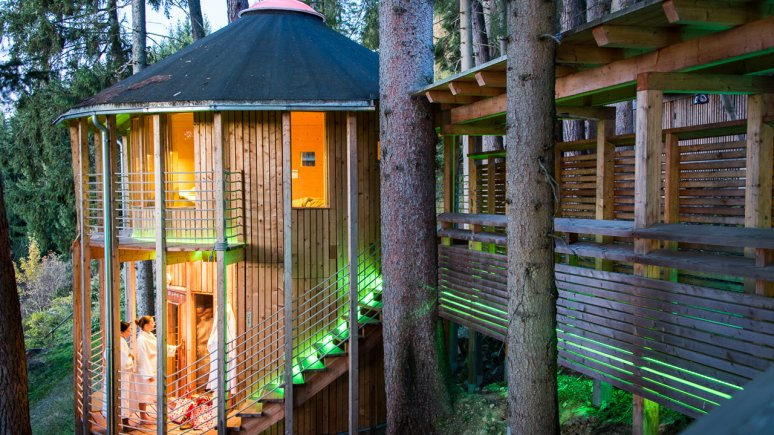 Forest sauna at the Biohotel Grafenast, © Biohotel Grafenast