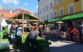 Wilten Farmers' Market, © Tirol Werbung/Michael Gams