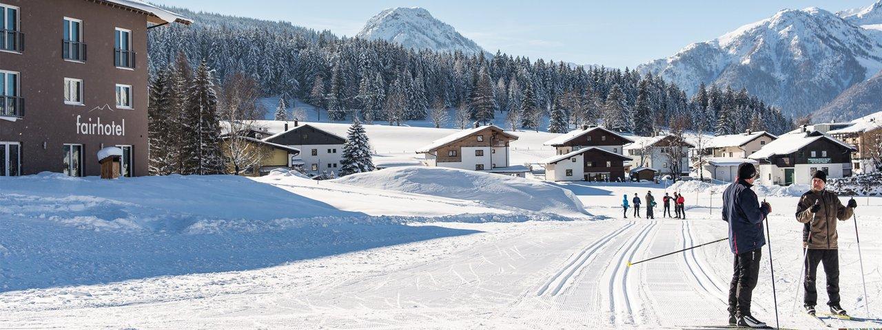 The fairhotel Hochfilzen, ideal for cross-country skiers, © fairhotel Hochfilzen