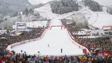 Hahnenkamm World Cup Race in Kitzbühel, © Tirol Werbung/Jens Schwarz