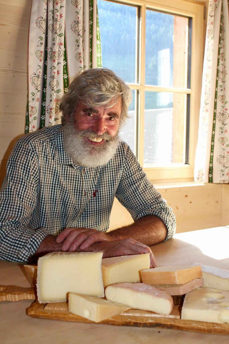 Artisan cheesemaker Johann Schönauer handcrafts sensational and award-winning regional cheeses.