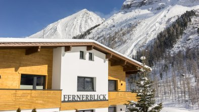 Fernerblick Apartments Hintertux Ansicht Winter, © Fernerblick