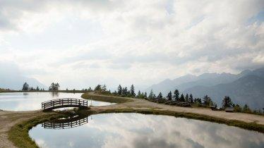 Artificial lake at Mutterer Alm, © Tirol Werbung/Frank Bauer