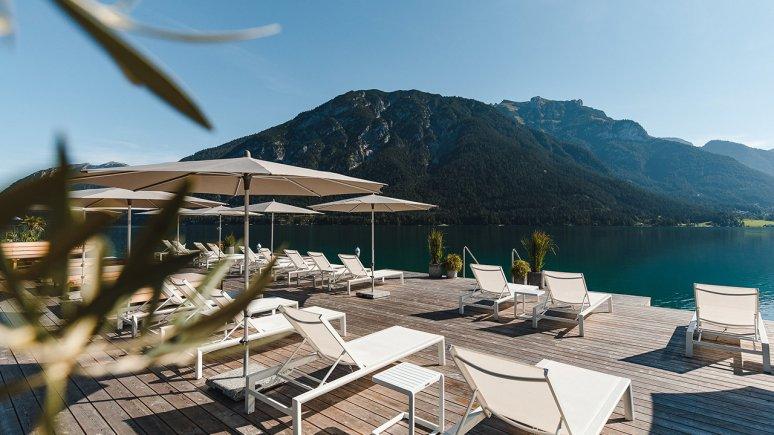 Private access to Lake Achensee, Seehotel Einwaller, © Seehotel Einwaller