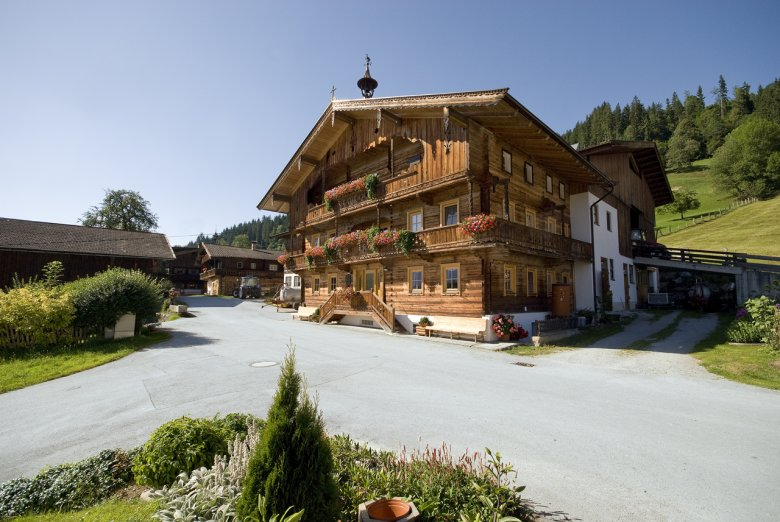 Tirolean dream home: beautiful farmhouses, like this one in Westendorf, can be found in Brixental, as several hundred farmers still live in the valley.