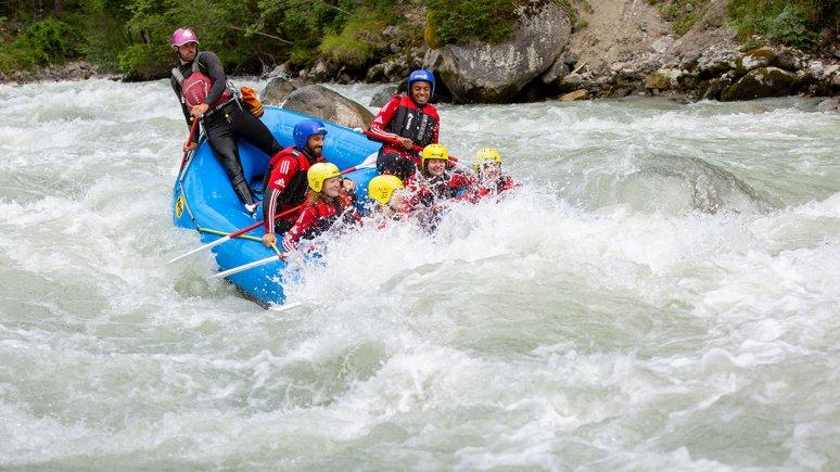 Rafting trip on the Ötztaler Ache river, © Area 47