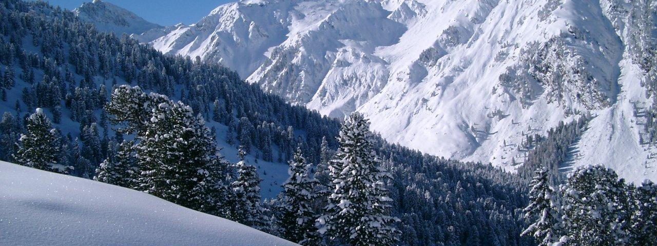 Winter landscape in Berau, © Silberregion Karwendel