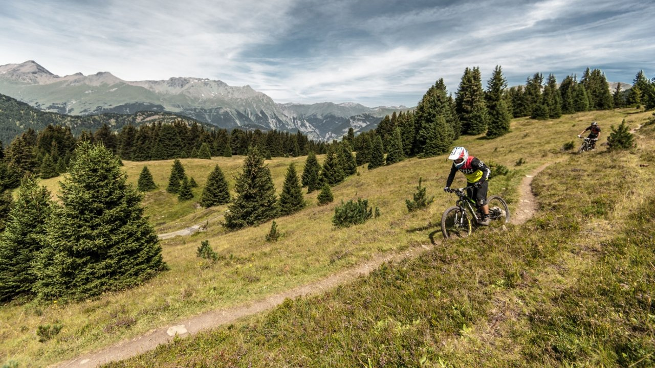 Enduro biking near Nauders, © Nauders Tourismus/Andreas Vigl