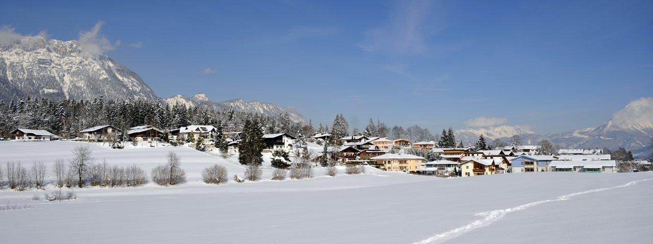 Angerberg in winter, © Kitzbüheler Alpen/Hannes Dabernig