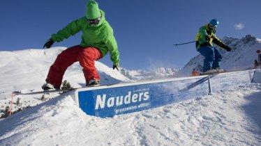 Snowpark Nauders, © TVB Nauders