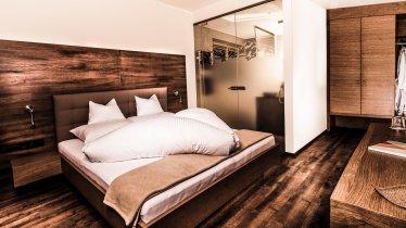 Appartement Tirol Schlafzimmer