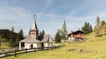 The Kaindlhütte hut in the Wilder Kaiser Mountains, © W9 studios