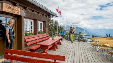 Rosskogelhütte Terrasse