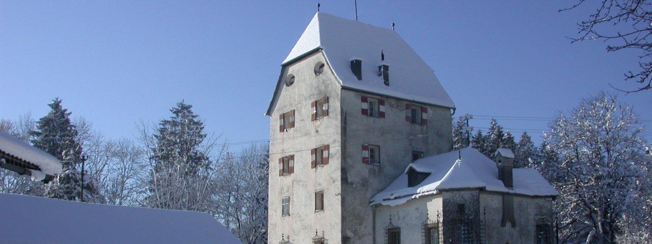 Schloss Schönwörth castle in Langkampfen im winter, © Ferienland Kufstein