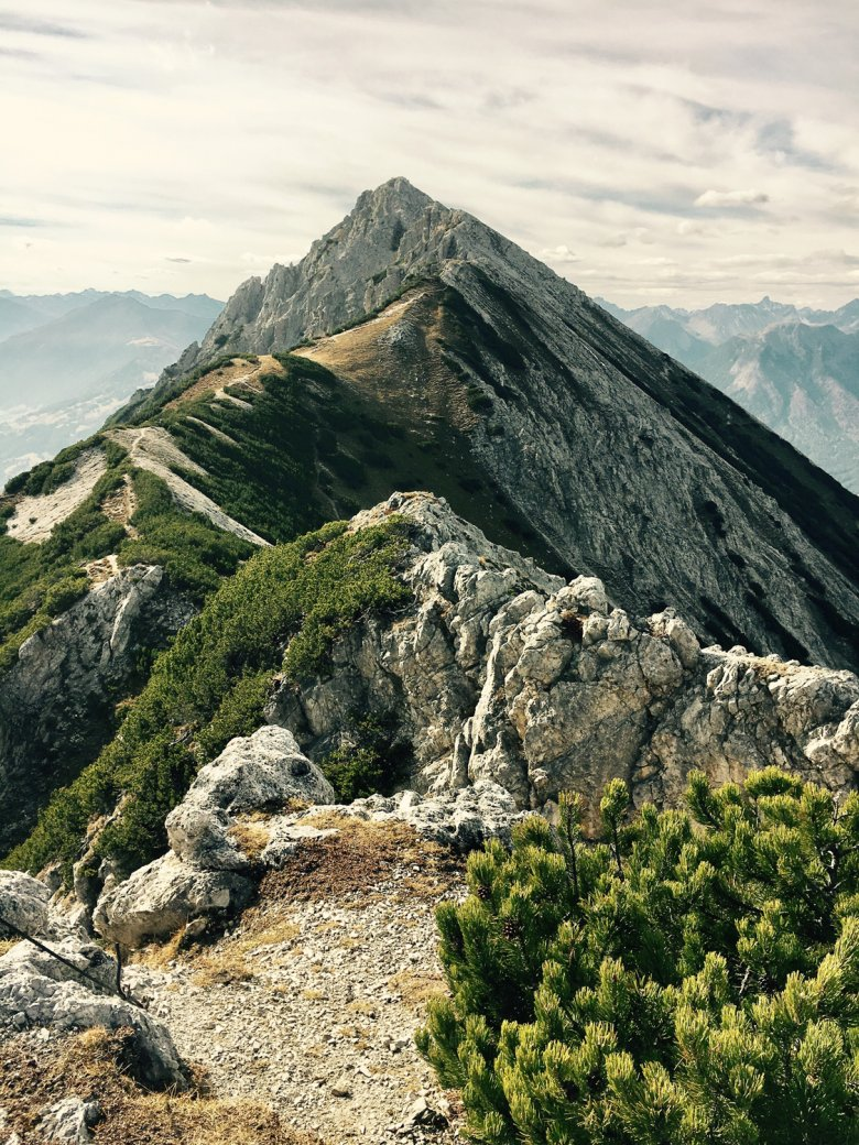 One of the best ways to see Tschirgant Peak is from Obsteig. Photo Credit: Bettina Jais