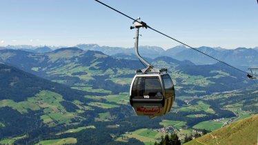 Alpenrosenbahn cable car in Westendorf, © Stefan Astner