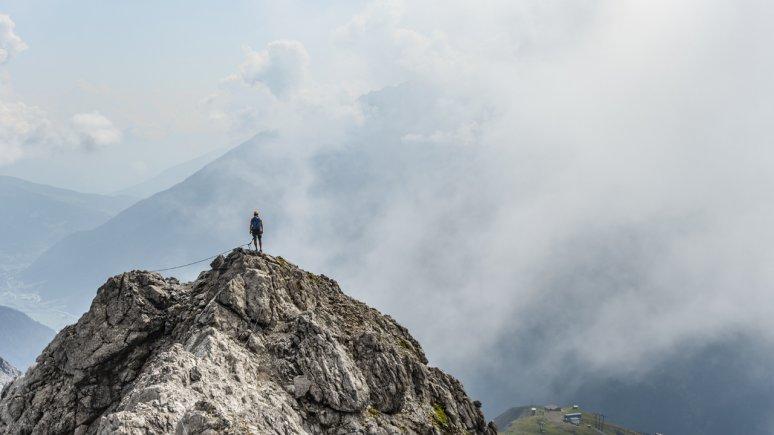 The Arlberg via ferrata, © TVB St. Anton am Arlberg / Simon Bätz