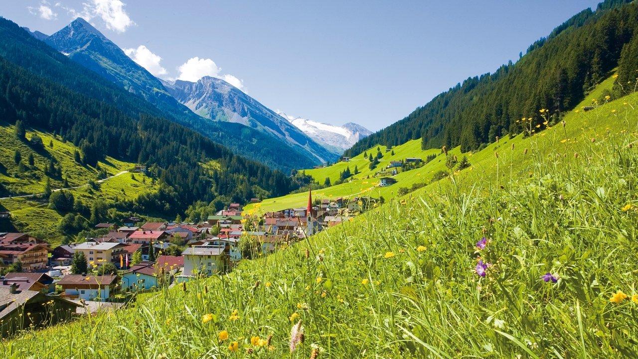 Tux-Lanersbach in summer, © Tux-Finkenberg