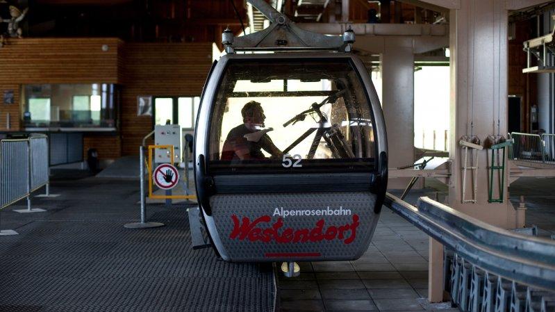 Alpenrosenbahn cable car in Westendorf, © Tirol Werbung/Oliver Soulas