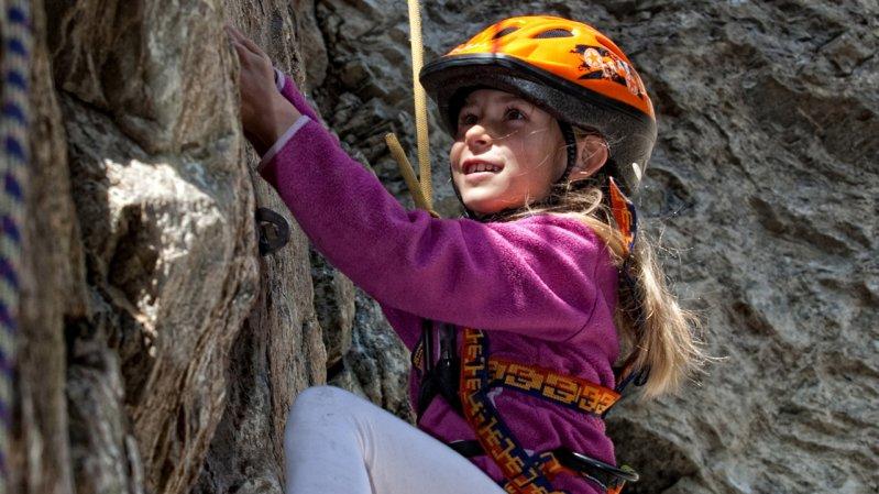Family Climbing Terrain in Serfaus, © Andreas Kirschner