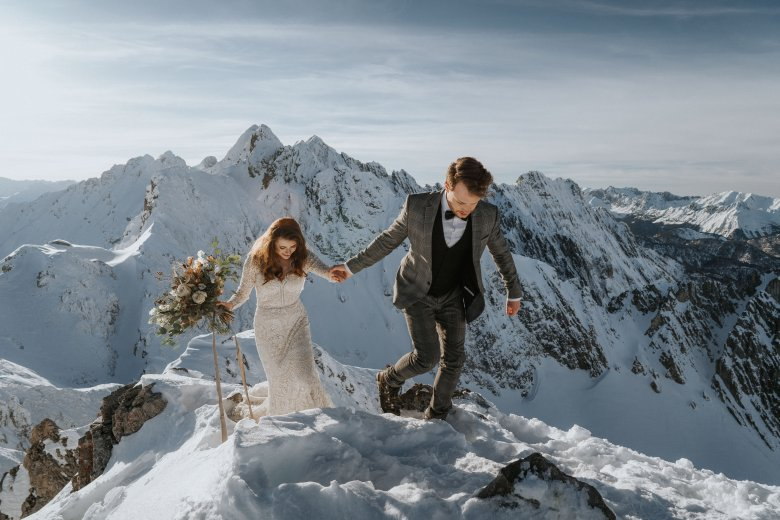 Vanessa & Hannes, Hafelekar Mountain