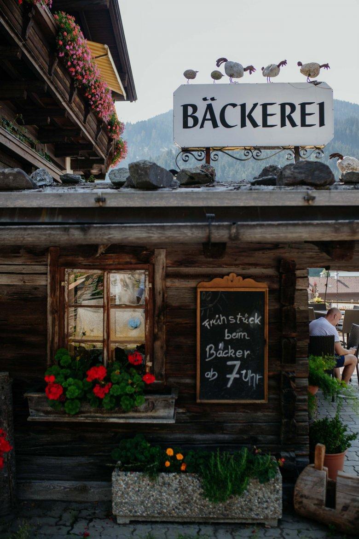 The Wilschönauer Backstube bakery in Oberau.
