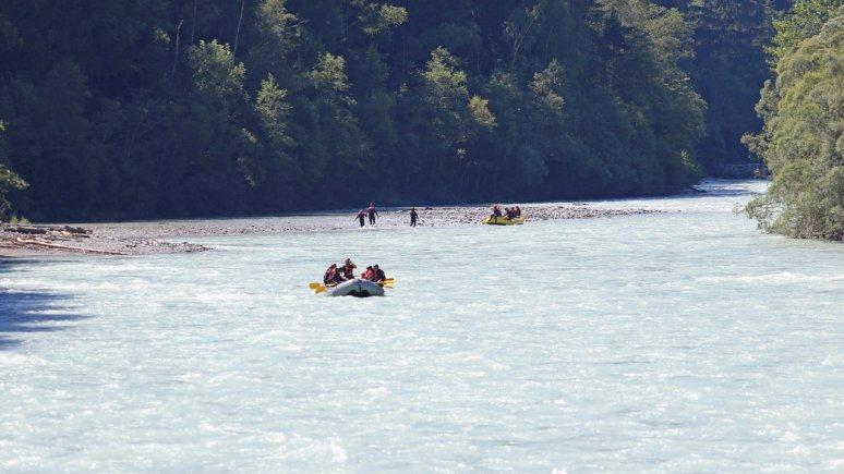 Rafting Tösener Schlucht, © TVB Tiroler Oberland - Kurt Kirschner