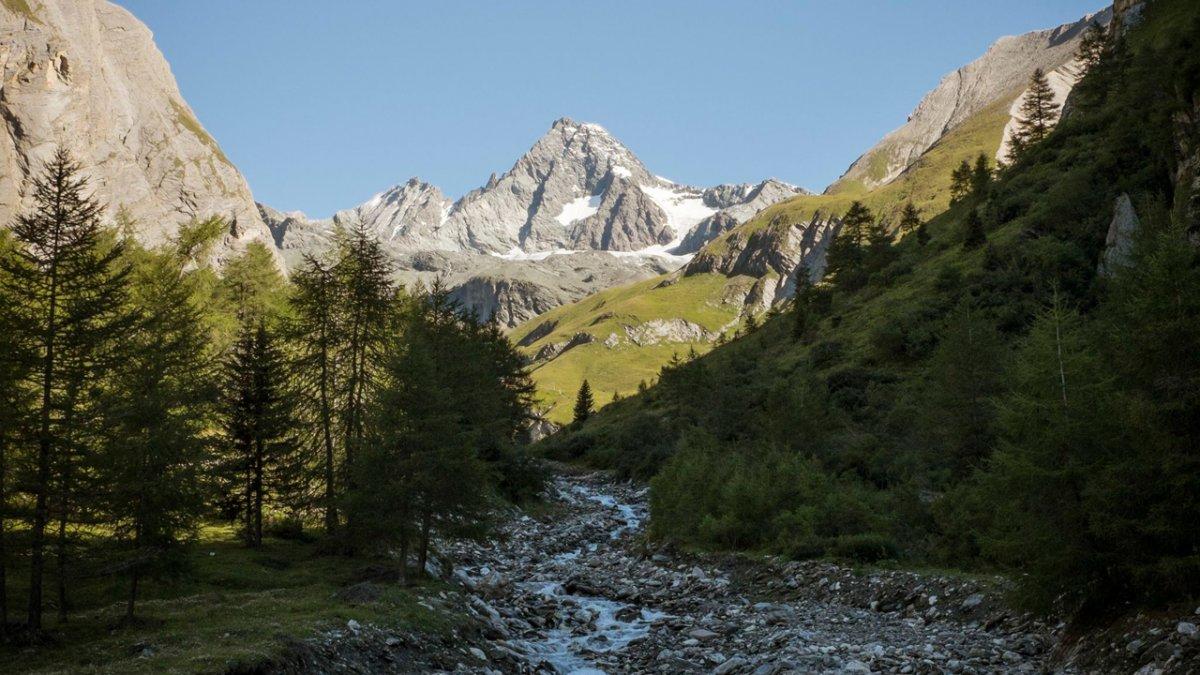 Eagle Walk: View of the Großglockner, Austria's highest mountain, © Tirol Werbung