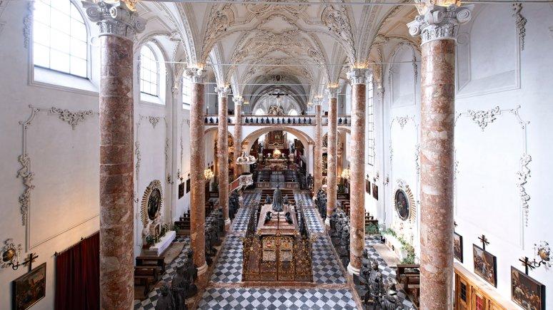 Hofkirche (Court Church) Innsbruck, © Alexander Haiden