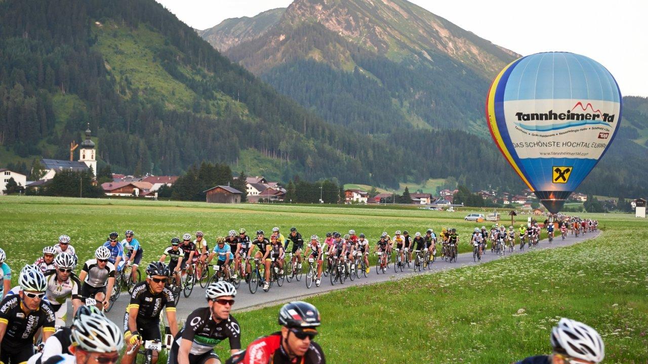Tannheimer Tal Cycling Marathon, © Radmarathon Tannheimer Tal
