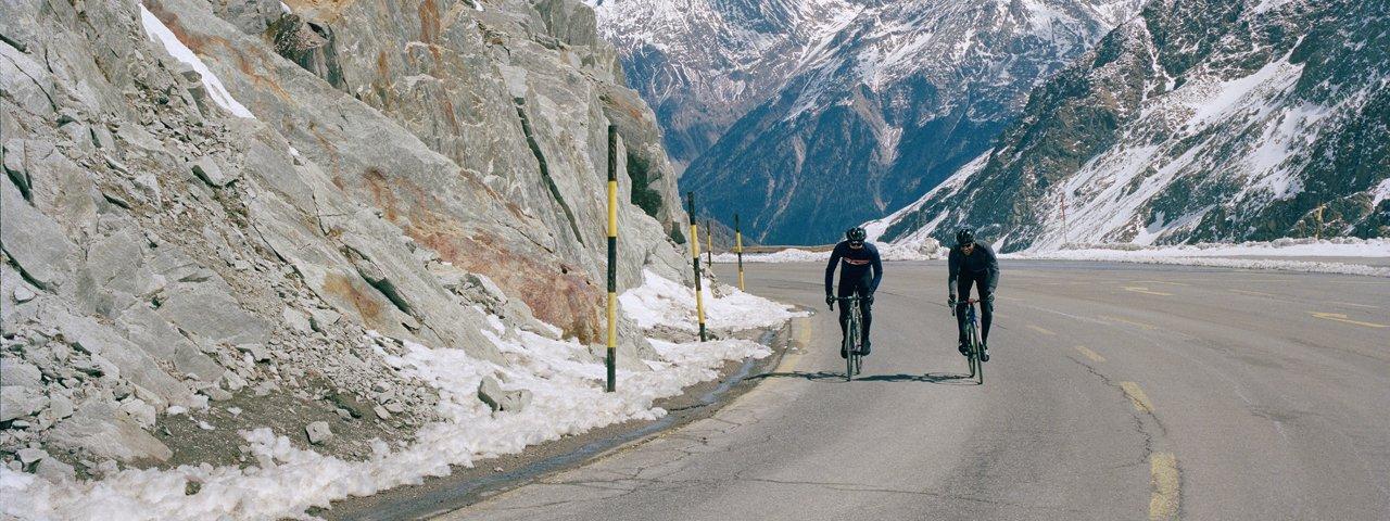 Roadbike ride: Ötztal Glacier Road, © Tirol Werbung/Marshall George