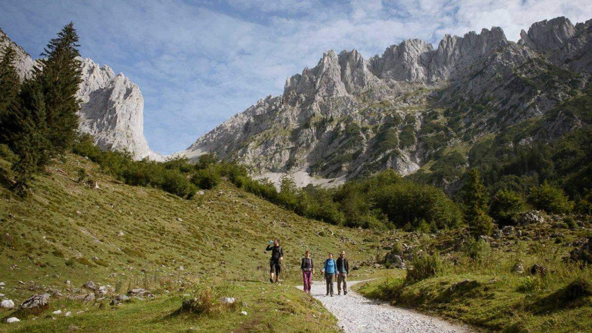 Eagle Walk at Wilder Kaiser Mountains, © Tirol Werbung/Jens Schwarz